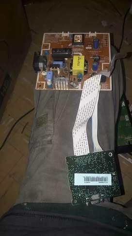 placa completa monitor led