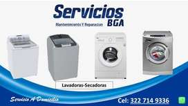 Mantenimiento Y Reparación de Lavadoras y secadoras. Servicio técnico de Lavadoras y secadoras