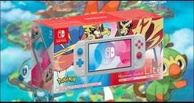 Nintendo Switch LITE edición pokemon