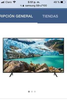 "Vendo smart TV 58"" Samsung Nuevo"