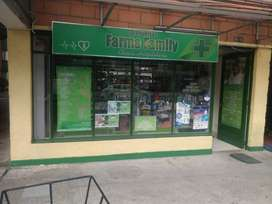 SE VENDE DROGUERIA FARMA FAMILY EXCELENTE PRECIO