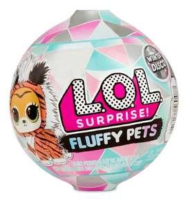 Lol: Unicos! Importado: original.Navidad: LOL FLUFFY PETS! Mascota con pelo, 3 looks.ORIGINALES IMPORTADOS ULTIMOS