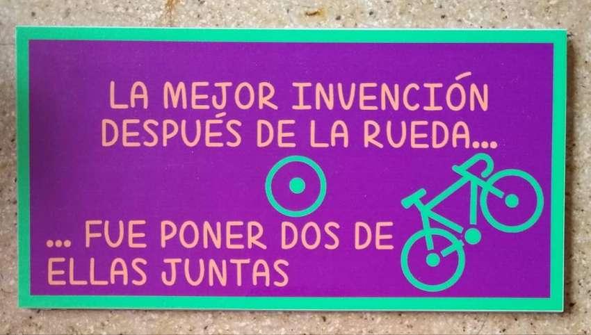 Placas decorativas para bicicletas 0