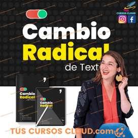 Curso Tu cambio radical de textos de Maider Tomasena