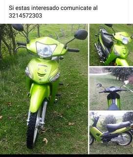 Se vende hermosa moto