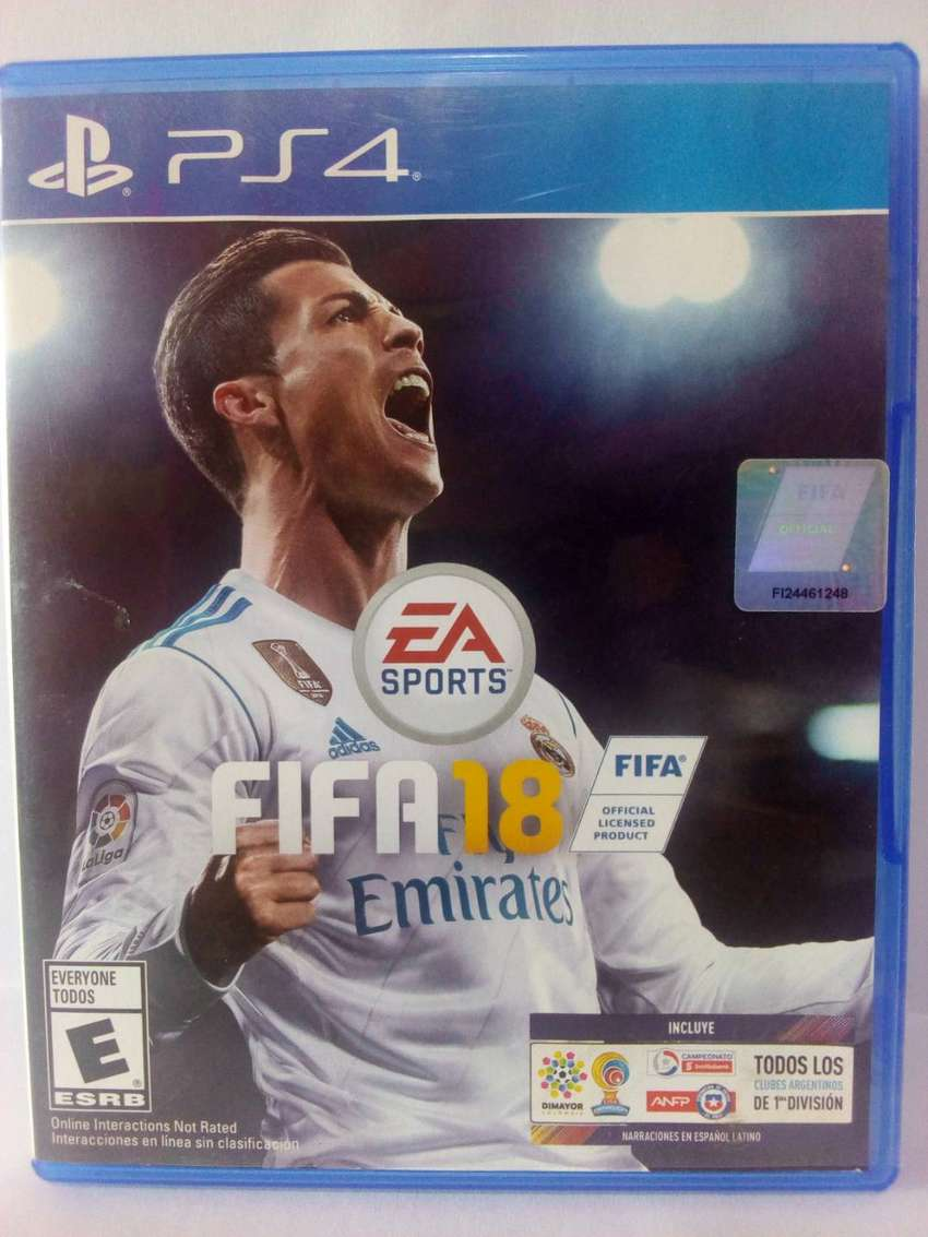 JUEGO FIFA18 PS4