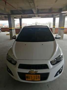 Chevrolet Sonic 2015 blanco automático