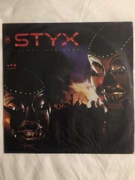 Styx kilroy was here LP