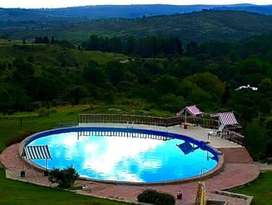 eg77 - Cabaña para 2 a 5 personas con pileta y cochera en Villa Giardino