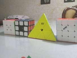 Coleccion cubos de Rubik 3x3 4x4 Pyraminx