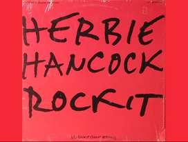 ROCKIT by HERBIE HANCOCK vinyl 12 pulgadas Lps Records acetatos vinilos discos singles música para tornamesas Djs