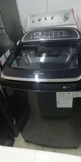 Hoy en venta lavadora Samsung activ dualwash de 17k
