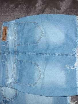 Short y polleras de jeans