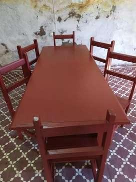 Vendo ...sillas y mesa