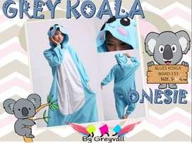 blue KOALA pijama kids - bygreyvall