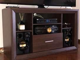 Rack modular mesa tv