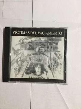 """Cd original de Hermetica, """"victimas del vaciamiento"""""""