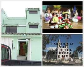 Casa de arriendo en zona privilegiada de Calderón cerca de la Panamericana Norte