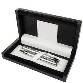 Set roller y bolígrafo Platinum