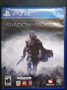 Shadow of Mordor Middle Earth PS4