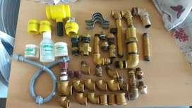 Materiales para gas