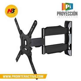 "Soporte Base TV NB-P4 giratoria pared tv 32"" - 55"" NBP4"