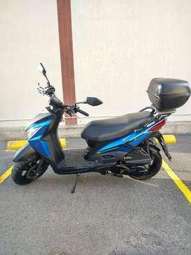 Hermosísima moto