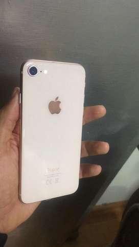 Iphone 8 de 64 GB Dorado fuull huella bateria al 100 % y 10/10