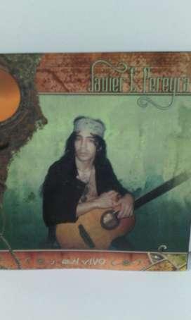 Cd Javier C. Pereyra en vivo 2001