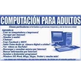 Clases de Computación Y Cel para Adultos