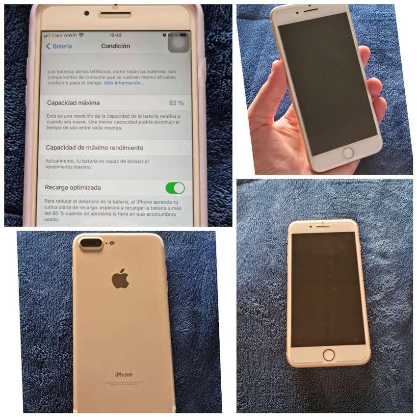 iPhone 7 plus 128gb como nuevo