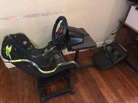 Simu de manejo con volante Logitech G29