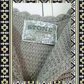 Chaleco tejido stone