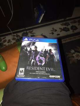 Juego resident evil 6