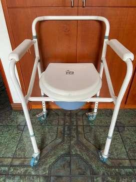 Sanitario portatil  (silla pato)