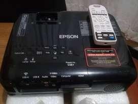 Vendo Proyector Epson H552A S18+ Hdmi Usb