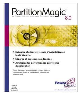 Partition Magic 8 Particiona Discos Rigidos CHAVEZ COMPUTACION