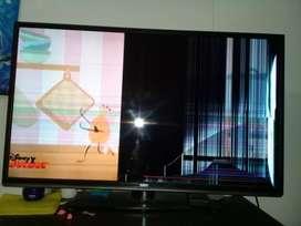 Vendo televisor a reparar