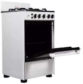 Cocina de 4 hornillas, encendido electrico, nueva en caja