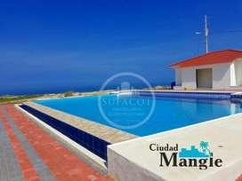 Con Acceso Directo A La Playa !!! Propiedad de 200M2 Con Areas Recreativas En Manabi SD2