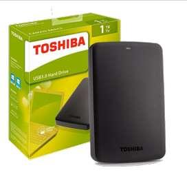 Disco Duro Externo Toshiba Canvio 1Tb