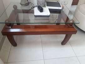 Vendo mesa de centro madera