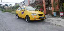 Automovil Aveo Family tipo taxi