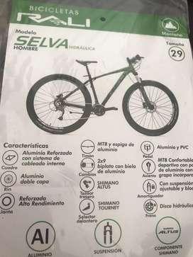 Vendo bicicleta uso menos de un mes
