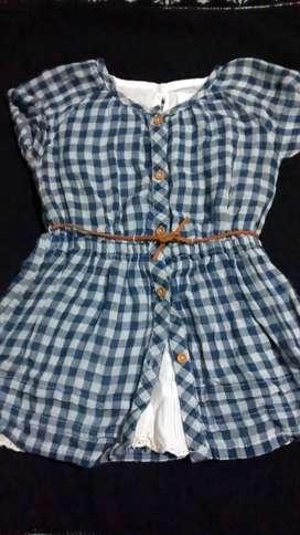 Vestido Zara T12 a 18 meses