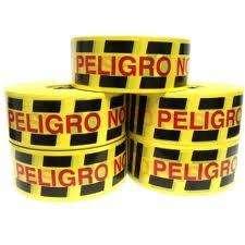 Cinta PELIGRO NO PASE x 500 mts.
