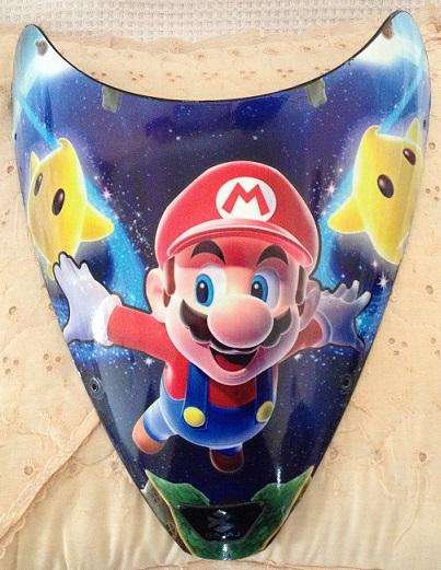 Mario Galaxy Acrilico