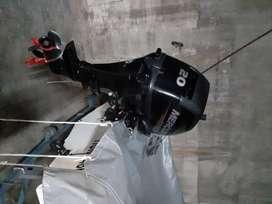 Bote Caribe 380 de Astilleros geuna motor 20 HP marca Mercury 4 tiempos con trailer y lona modelo 2015 40 horas de uso