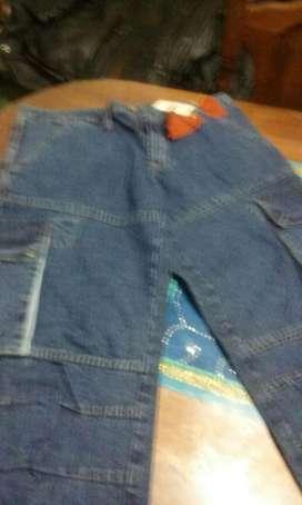 Jean azul nuevo Talle 3646 WRGE 6 bolsillos