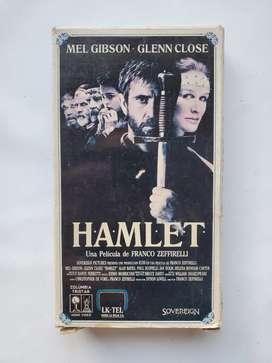 Hamlet vhs Franco zeffirelli Mel Gibson Glenn close